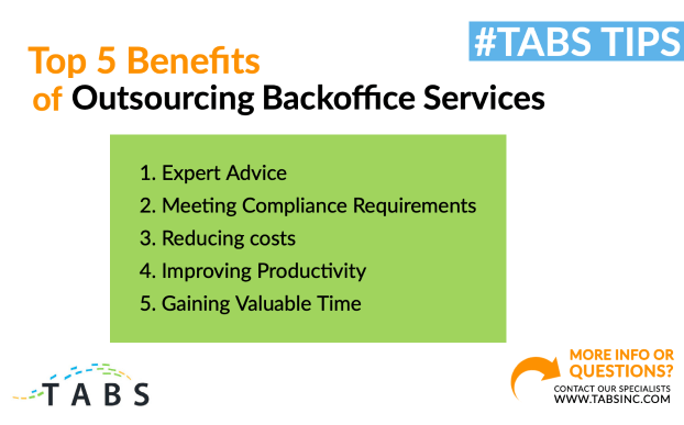 outsourcing backoffice services
