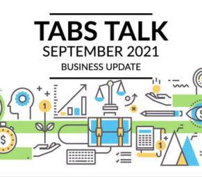 Newsletter TABS Talk September 2021